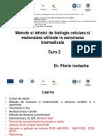 Curs 2 Tehnici Biologie Moleculara