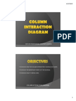 Reinforced Concrete Design Column Interaction Diagram