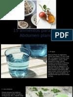 Alimentos Para Un Abdomen Plano