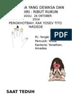 Slide Kebaktian 26 Oktober