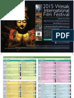 2015 Wesak International Film Festival