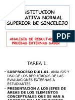 induccion para el analisis y la interpretacion de los resutados de las pruebas saber