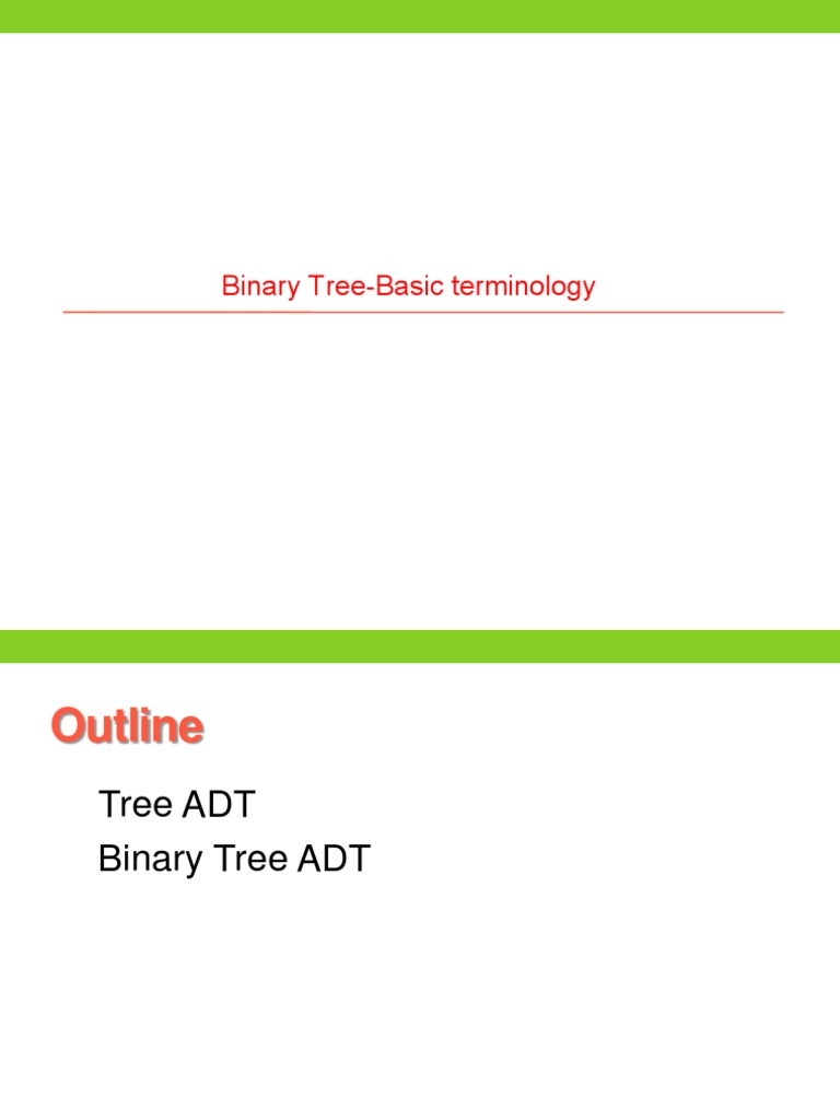 Tree Properties | Areas Of Computer Science | Computer Data