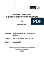 Report w
