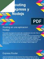 Routing Express y Nodejs