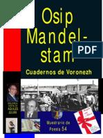 CUADERNOS DE VORONEZH, POR OSIP MANDELSTAM