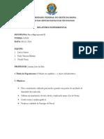 Relatório v - Painel Hidrostático