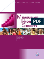 Measuring the Information Society 2013