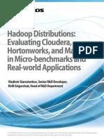 Hadoop Benchmark