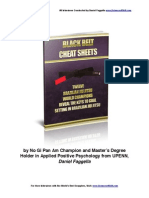 Black Belt Cheat Sheets
