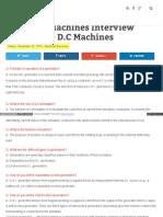 Elecrical Machines IQ