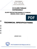 Technical Specification Slope Protection Works at Gumain Bridge Pier Nos. 5 and 6