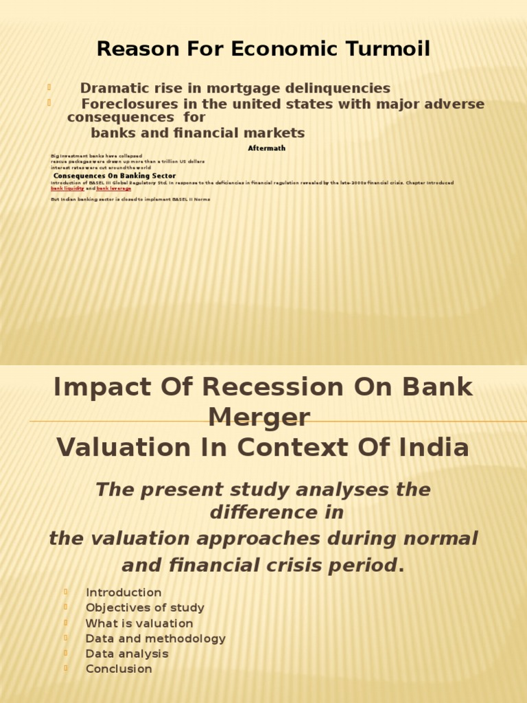 impact of recession on indian banking sector Ebscohost serves thousands of libraries with premium essays, articles and other content including the impact of global financial crisis on banking sector in nigeria.