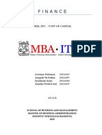 Nike - Finance Case Study