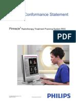 Pinnacle 9.6 DICOM Conformance Statement