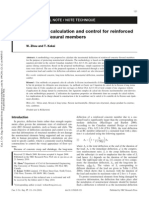 Deflection Calculation and Control for Reinforced Concrete Flexural Members