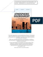 Atmospheric Environment Article