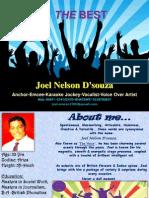 MC Joel Nelson Dsouza Profile