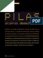 Pilas Alcalinas Desechables