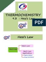9.3 Hess's Law(1)