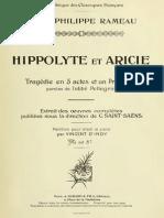 Hippolythe&Aricie