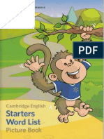 Cambridge English - Starters Word List Picture Book.pdf