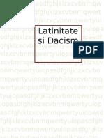 Latinitate  și Dacism studiu de caz clasa a 11-ea