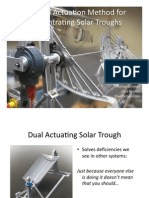 A Novel Hydraulic Actuator For Solar Parabolic Trouch