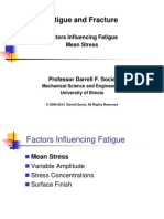 Fatigue Factors