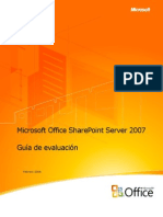 Office SharePoint Server 2007 Product Guide