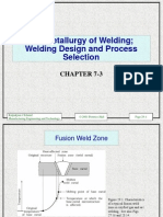 Welding 3 Metallurgy