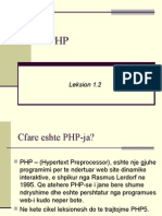 PHP - 2013 - L1.2