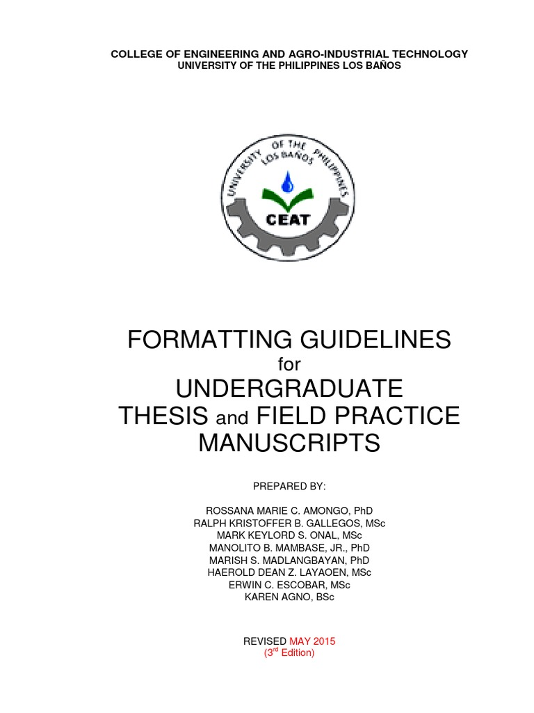 Questions and answers for thesis defense