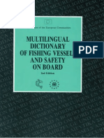 Multilingual Dictionary of Fishing Vessels and Safety on Board