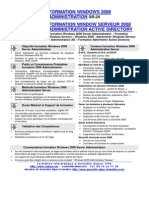 Formation Reseau Administration Windows 2008 Serveur