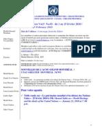 ACNUExpress Vol.5 No.03 - du 1 au 15 février  2010