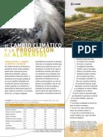 Cambio Climatico y Produccion de Alimentos