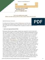Mensaje Para La Cuaresma 2013-Benedicto XVI