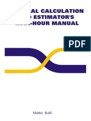 Technical Calculation and Estimator's Man-hour Manual - Erection of