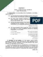 1_lok Sabha--composition, Business and Procedure