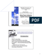 Saylors-Wind Farm Collector System Grounding
