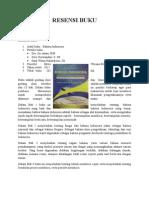 Resensi Buku bahasa indonesia