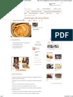 Receita de Creme Pasta Manteiga de Amendoim - Tudo Gostoso