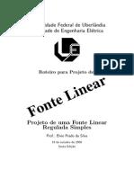 Roteiro de Projeto de Fonte Linear