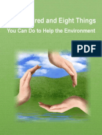 108 Things to Do to save Environment