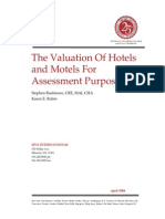 The Valuation of Hotels and Motels for Ass Purpose