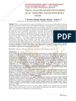 Effluent Physico-chemical Conditions