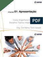 Aula 1 _ Topicos Integradores _ Apresentação