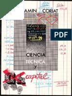 Benjamin Coriat.- Ciencia, Tecnica y Capital