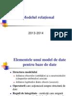 Modelul Relational